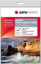 Agfa Carta fotografica Inkjet Premium Glossy A4 50 fogli - AP24050A4
