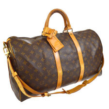 LOUIS VUITTON KEEPALL 50 BANDOULIERE TRAVEL BAG MONOGRAM M41416 TH0914 tw A48326
