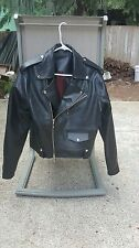 Luxire MTM Leather Double Rider Jacket Black