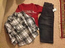 Calvin klein jeans kids toddler boys 3 pcs set as pictured 3T