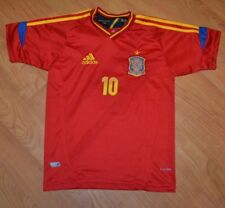 Spain National Team Football Soccer Jersey Fabregas Youth Large 16 Nice Adidas