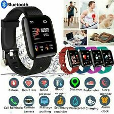 For Android iOS Smart Watch Blood Pressure Heart Rate Monitor Bracelet Wristband