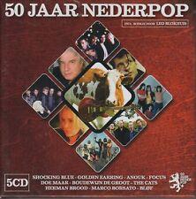 50 jaar Nederpop 5 CD Box 60's. 70's, 80's. 90's, 00.s incl: Shocking Blue 2008
