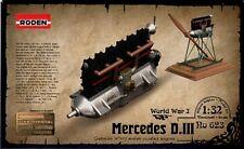 Roden 1/32 Mercedes D.III Moteur #