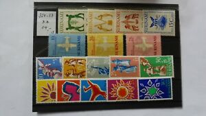 Verkaufe 1 Steckkarte Briefmarken Postfrisch aus Suriname 3