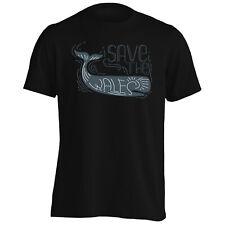 Save the whales ocean sea animal Men's T-Shirt/Tank Top gg818m