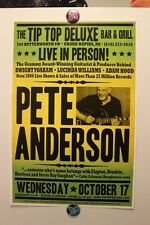 PETE ANDERSON Grand Rapids MI (2012) CONCERT POSTER dwight yoakam country guitar