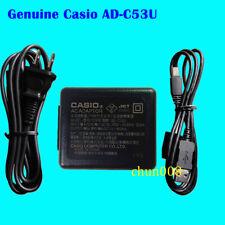 Genuine Original Casio AD-C53U AC Adapter USB Cable for EX-ZS5 R100 ZR200