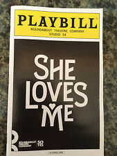 She Loves Me playbill  Broadway NYC Laura Benanti Zachary Levi Jane Krakowski