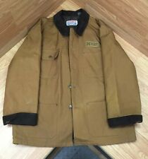 GOULDS PUMPS MENS WORK COAT XL 100% COTTON WITH 100% NYLONFACE POLYBATT LINING