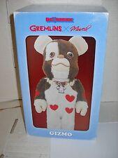 "Medicom 400% Bearbrick Gremlins x Muveil Gizmo Be@rbrick MISB NEW genuine 11"""
