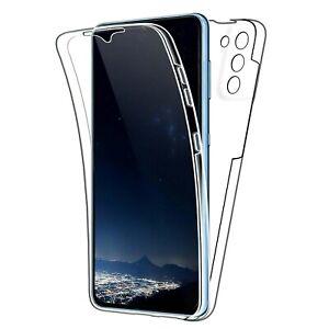 Cover Für Samsung Galaxy S21 / Plus / Ultra / 5G Klar Vorne Retro Komplett TPU
