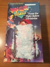 McGee And Me! 'Twas The Fight Before Christmas (VHS) Focus On The Family...96