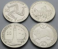 Isle of Man 10p coin set - Circulated