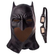 Justice League Batman Mask Cosplay Superhero Deluxe Latex Adult Mask Costume New