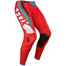 PANTALONI MOTOCROSS FOX FLEXAIR SECA RED 2017 TAGLIA 36  ENDURO