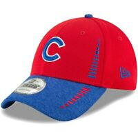 New Era Chicago Cubs Red/Heathered Royal Speed Tech 9FORTY Adjustable Hat