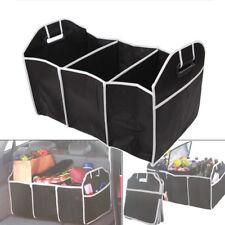 Black Trunk Organizer Collapsible Folding Caddy Car Truck Auto Storage Bin Bag