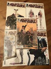 Fight Club 2 #7 8 9 10 + Variant Cover Lot Set x5 Dark Horse NM Chuck Palahniuk