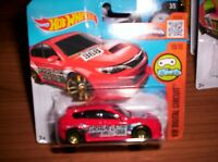 SUBARU WRX STI - HOT WHEELS - SCALA 1/55