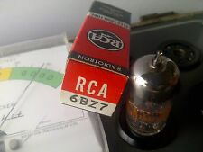 RCA 6BZ7  = (6BQ7A / 6BS8) Vacuum Tube Tested NOS