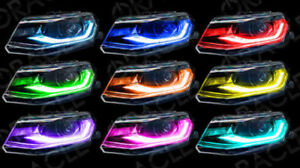 2016-2018 Chevrolet Camaro ORACLE Lighting ColorSHIFT Headlight DRL  3982-332