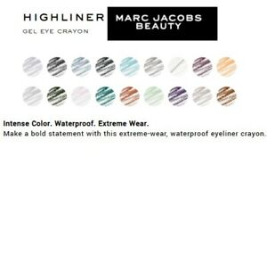 Marc Jacobs Highliner Gel Eye Crayon Assorted, Full Size, New, Sealed, FREE Ship