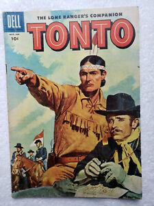 Lone Ranger's Companion, Tonto #21 (Nov-Jan 56, Dell) [VG 4.0]
