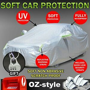 Restrain UV Car Cover Prevent Scratching Dust Waterproof For Holden Commodore
