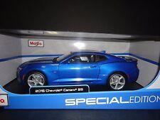 Maisto Chevrolet Camaro SS 2016 Blue 1/18