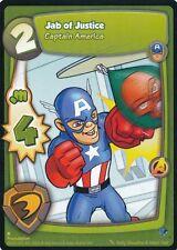 CAPTAIN AMERICA 2012 Marvel Super Hero Squad Foundation AVENGERS JAB OF JUSTICE