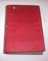 Genova - Annuario genovese - Lunario Sig. Regina - 1^ ed. 1899