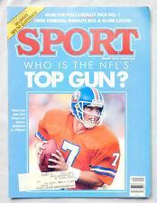 1987 Sport magazine John Elway Denver Broncos