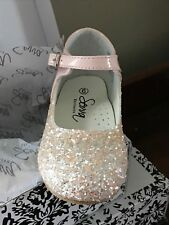 BABY TODDLER GIRL SPARKLY GLITTER SPANISH PARTY WEDDING OCCASION GIRLS SHOES