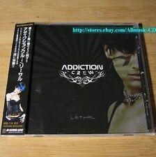 Addiction Crew - Lethal JAPAN Sample CD+2 Bonus Tracks W/OBI Nu Metal #22-1