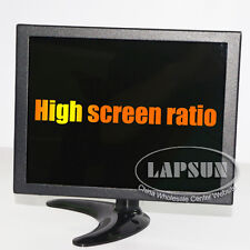 10 inch HDMI VGA AV BNC Input Portable TFT LCD Color Monitor F PC CCTV Screen UK