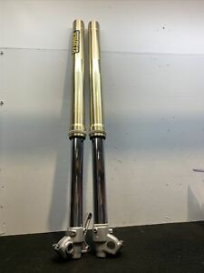 Yamaha Yz 125 2007 Forks Front Suspension.  Twin Chamber