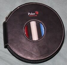 NWOT Sacchi Miniature Poker Set in carrying case - size of a CD