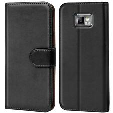Case Cover Samsung Galaxy S2 / S2 Plus Magnetic Flip PU Leather Wallet Holder