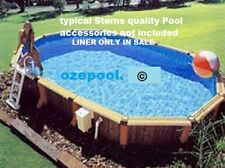 ABOVE GROUND POOL LINER 2315 (7x4.5x1.2&1.37mtr WALL) DEEP END, SKY or DARK blue