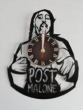 Post Malone Vinyl Record Wall Clock Home Art Decor 12'' Retro