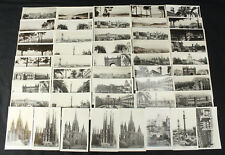 Large Collection of Spain RPPC Postcards by Guilera & Oriol Barcelona 48 Total!