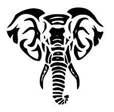 Elephant vinyl car Decal / Sticker