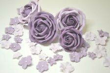 Wedding cake decorations sugar roses blossoms birthday flower toppers