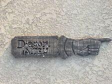 Diagon Alley Pointer Sign