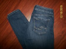 SILVER BRAND JEANS SZ 29 W29 L29 MAZY SKINNY FACTORY DISTRESSED PERFECT !