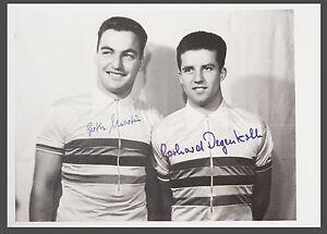 signierte Autogrammkarte Radballer MARTIN DEGENKOLB Autogramm Foto AK 50er Jahre