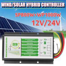 12V/24V 1000W Waterproof Wind  Turbine Generator Charge Controller Regulator L
