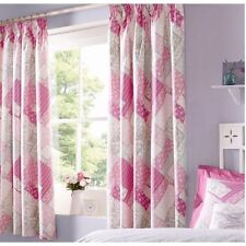 Modern 100% Cotton Curtains & Pelmets with Pencil Pleat