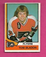 1974-75 OPC # 396  FLYERS TOM BLADON ROOKIE CREASED CARD (INV# A9938)